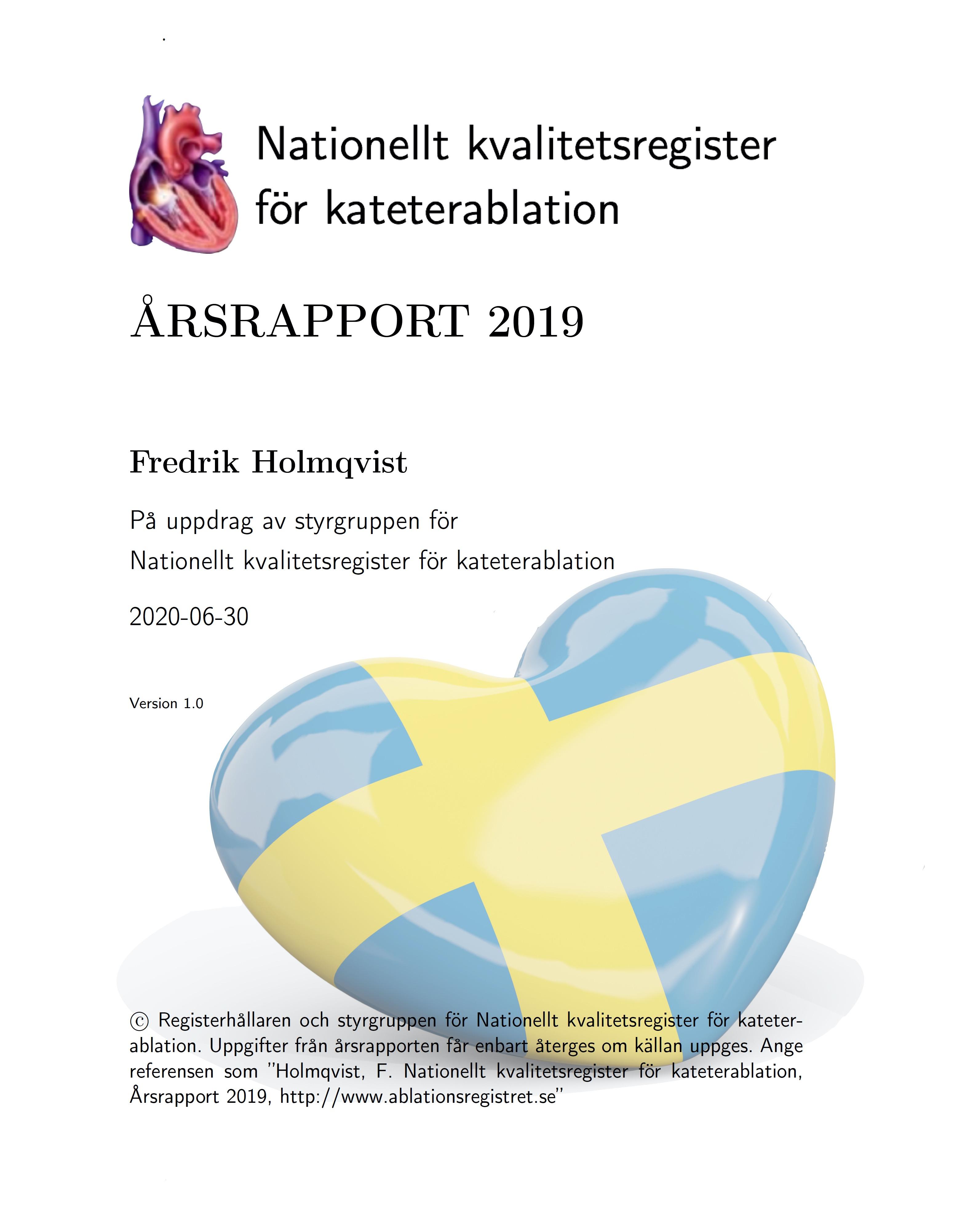Årsrapporten 2019