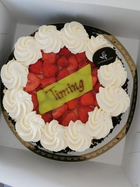 Uppsala bild på tårta